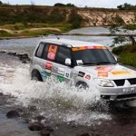 Rally Mitsubishi em Santa Catarina