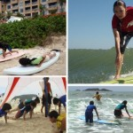 Aulas de surfe com certificação