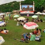 Cinema ao ar livre no Floripa Tem