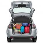 Atenção ao peso das malas; elas alteram o desempenho do carro