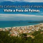 Santa Catarina no verão é imperdível. Visite a Praia de Palmas.