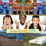 Feriado 12 de Outubro em Santa Catarina: presente para pais e filhos!
