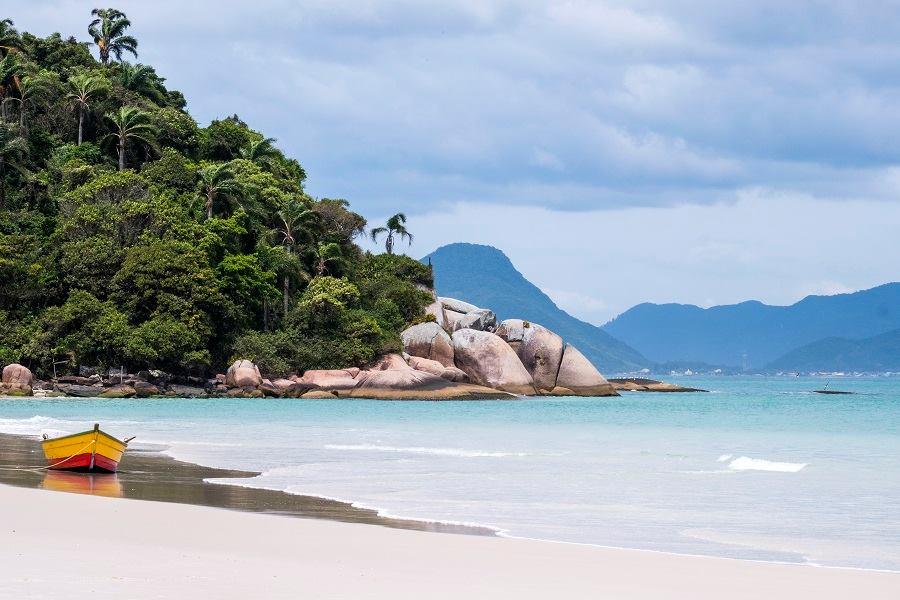 Florianópolis é o Brasil surpreendente, segundo revista TAP Air Portugal