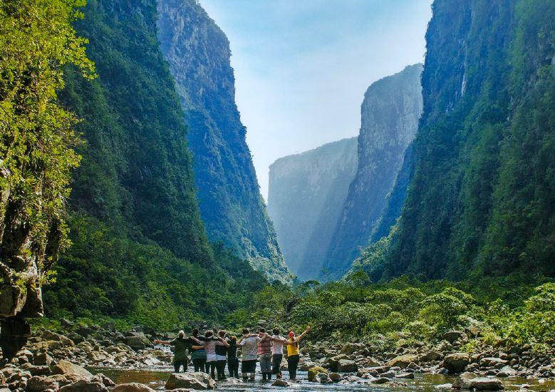 Canyons em Santa Catarina
