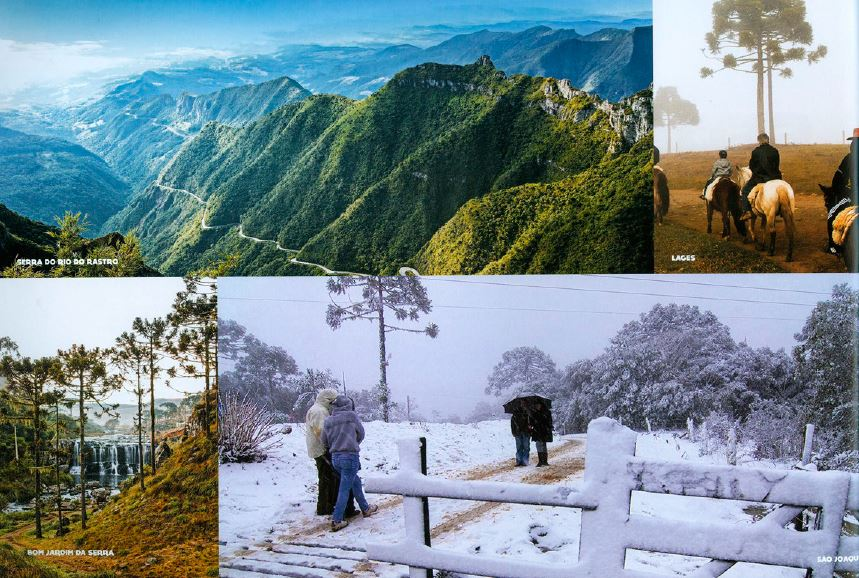 Inverno 2019 em Santa Catarina
